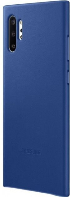 Чехол Samsung Leather Cover для Samsung Galaxy Note 10 Plus (EF-VN975LLEGRU) Blue от Територія твоєї техніки - 4