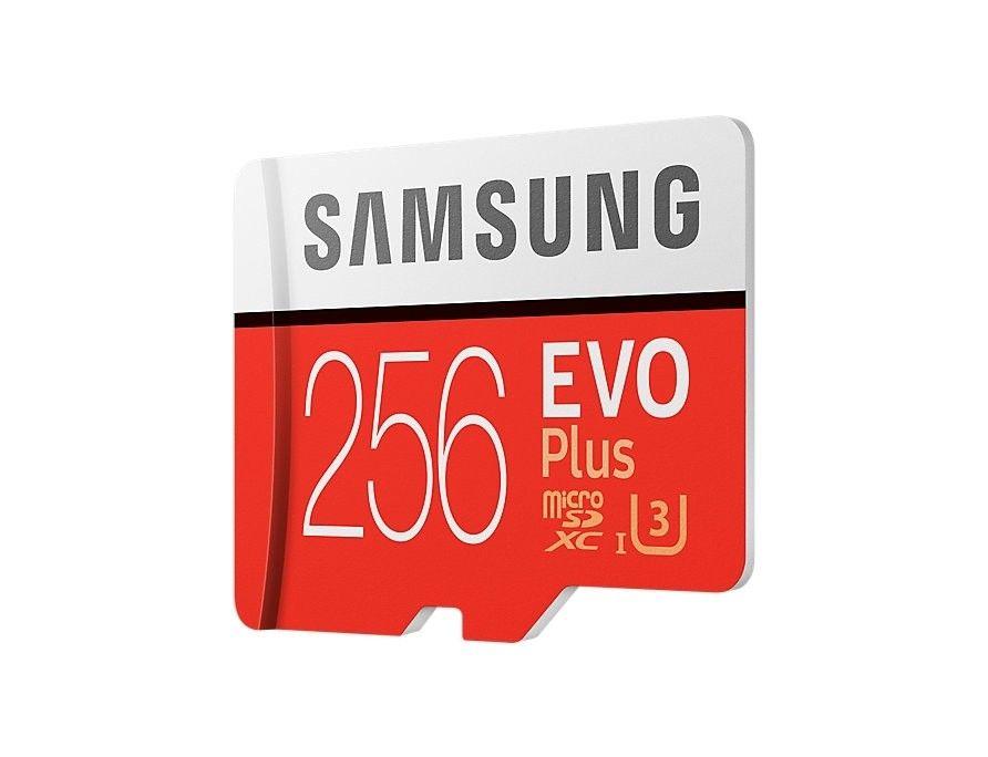 Карта памяти Samsung microSDXC 256GB EVO Plus UHS-I (MB-MC256GA/RU) от Територія твоєї техніки - 2