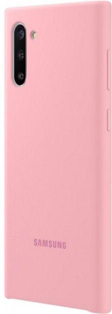 Накладка Samsung Silicone Cover для Samsung Galaxy Note 10 (EF-PN970TPEGRU) Pink от Територія твоєї техніки - 3