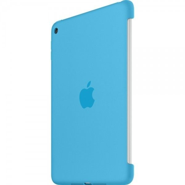 Силиконовый чехол Apple Silicone Case для  iPad mini 4 (MLD32ZM/A) Blue  - 1