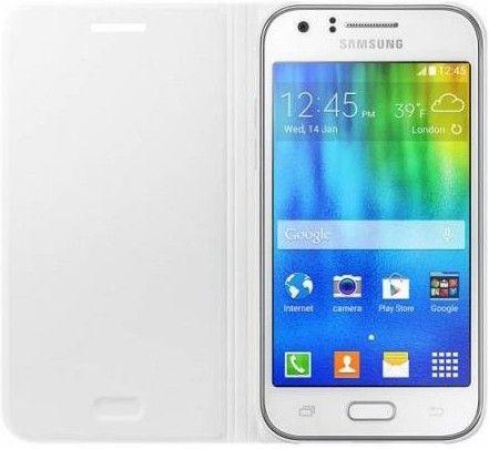 Чехол Samsung EF-FJ100B для Samsung Galaxy J1 J100H White (EF-FJ100BWEGRU) - 1