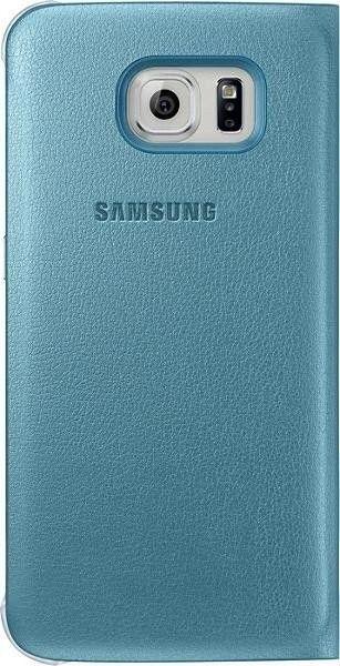 Чехол Samsung Zero для Samsung Galaxy S6 Blue (EF-WG920PLEGRU) - 1