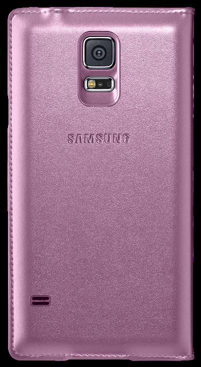 Чехол Samsung Flip Wallet для Galaxy S5 Pink (EF-WG900BPEGRU) - 2