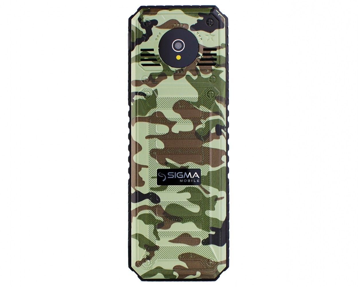 Мобильный телефон Sigma mobile X-style 11 Dragon Green Camouflage - 1