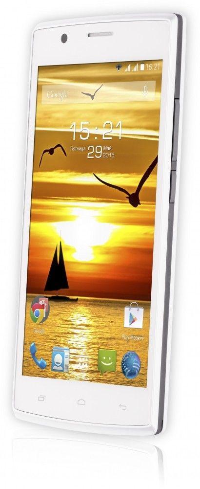Мобильный телефон Fly FS501 Nimbus 3 White - 4