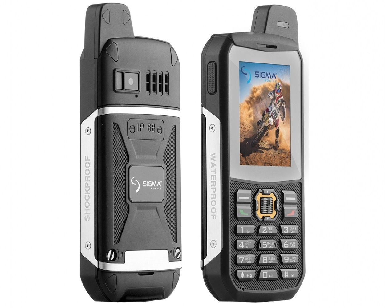 Мобильный телефон Sigma mobile X-treme 3SIM Black - 3