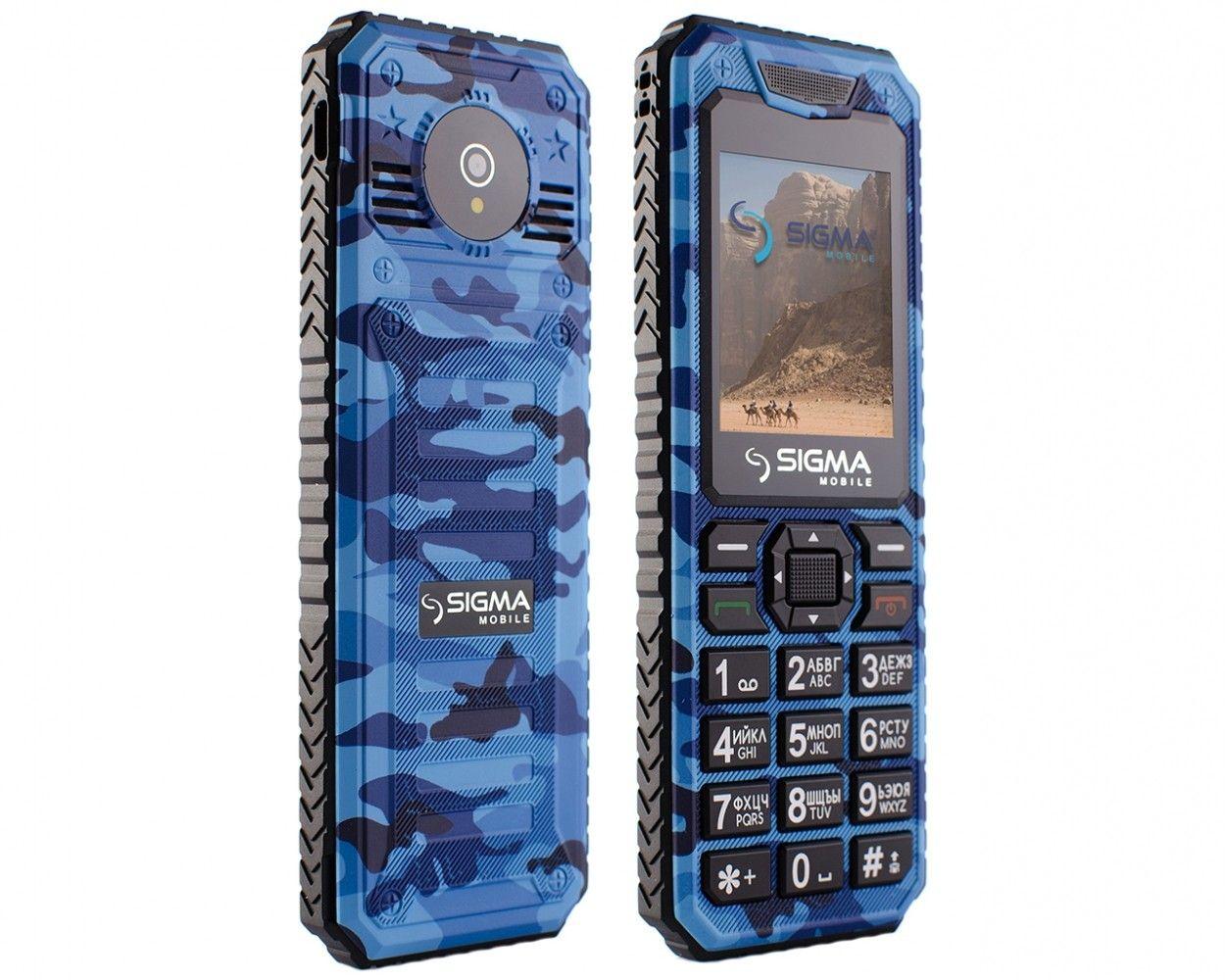 Мобильный телефон Sigma mobile X-style 11 Dragon Blue Camouflage - 2
