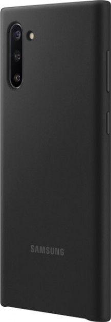 Накладка Samsung Silicone Cover для Samsung Galaxy Note 10 (EF-PN970TBEGRU) Black от Територія твоєї техніки - 3