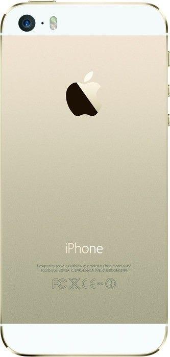 Мобильный телефон Apple iPhone 5S 16GB Gold как новый Original factory refurbished by Apple - 1