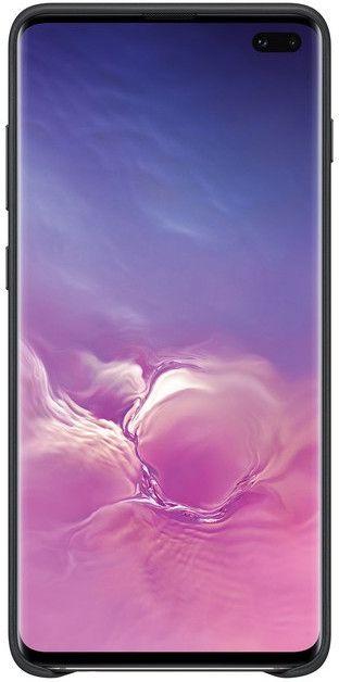 Панель Samsung Leather Cover для Samsung Galaxy S10 Plus (EF-VG975LBEGRU) Black от Територія твоєї техніки - 2