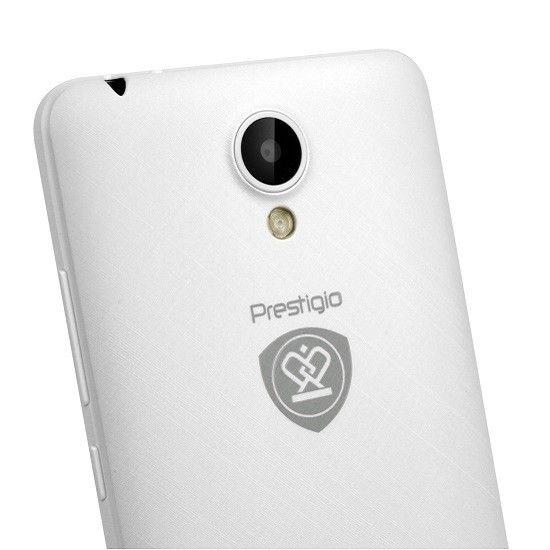 Мобильный телефон Prestigio MultiPhone 3504 Muze C3 (PSP3504DUOWHITE) White - 2