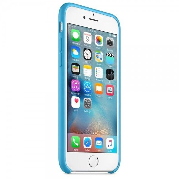 Панель Apple iPhone 6s Silicone Case Blue (MKY52ZM/A) - 3