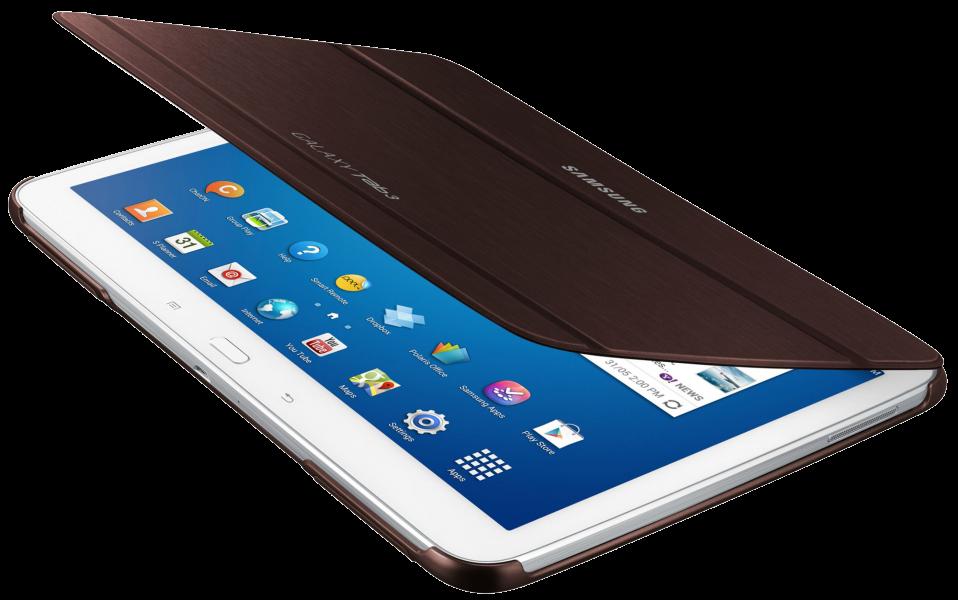 Обложка Samsung для Galaxy Tab 3.0 10.1 Gold Brown (EF-BP520BAEGWW) - 2