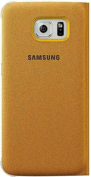 Чехол Samsung S View Zero для Samsung Galaxy S6 Yellow (EF-CG920BYEGRU) - 1