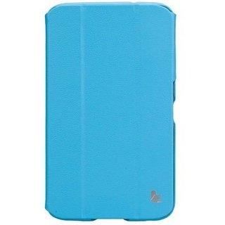 Чехол-книжка Jison Premium Leatherette Smart Case (JS-S21-03H40) Blue for Galaxy Tab 3 7.0 (P3200) - 1
