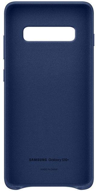 Панель Samsung Leather Cover для Samsung Galaxy S10 Plus (EF-VG975LNEGRU) Navy от Територія твоєї техніки - 4