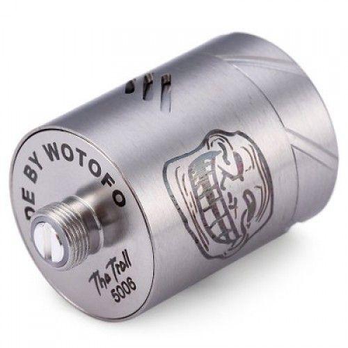 Дрип-атомайзер Wotofo The Troll RDA Silver (WFTTRDASL) - 2
