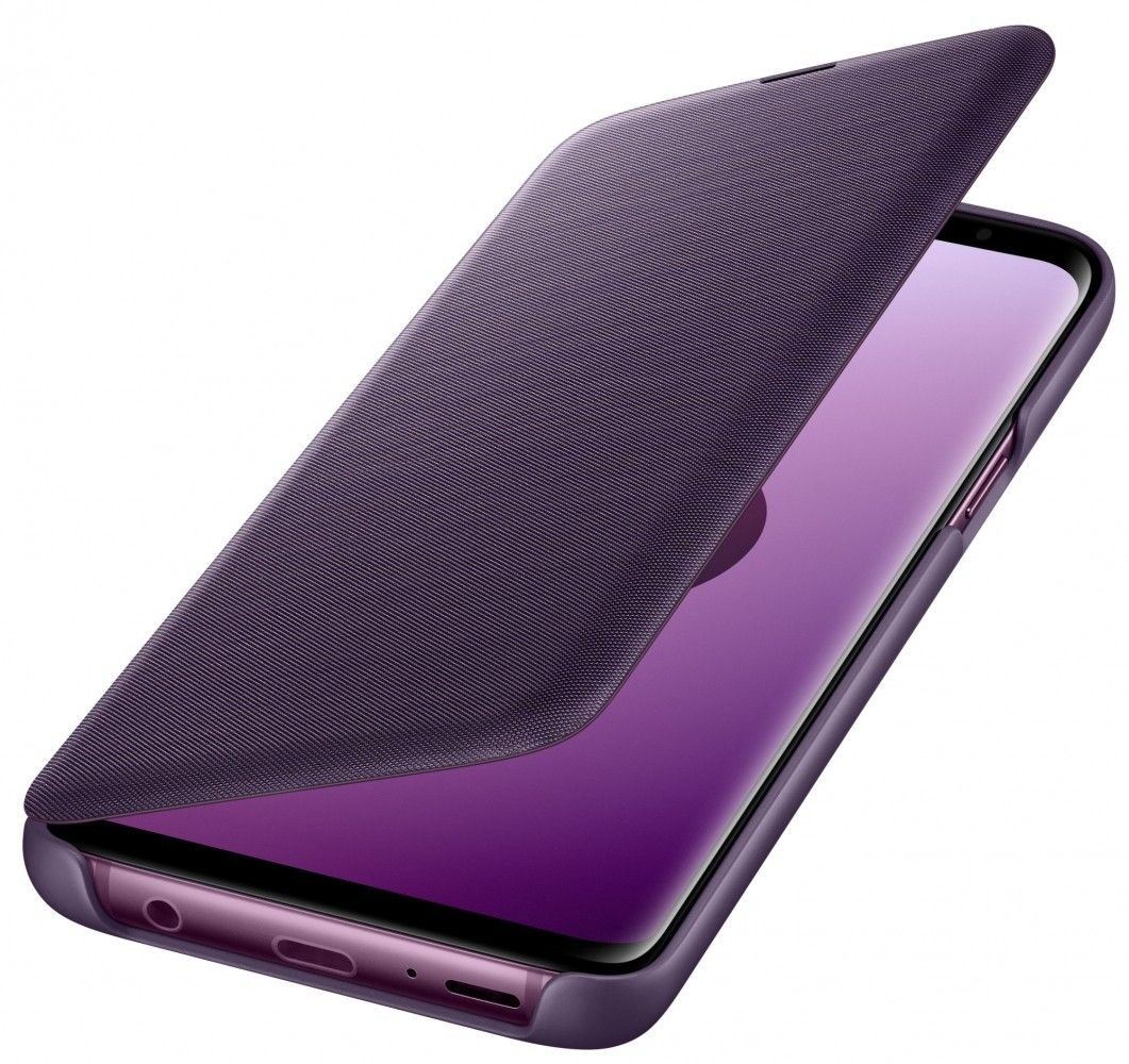Чехол-Книжка Samsung View Cover S9 Orchid Gray (EF-NG960PVEGRU) от Територія твоєї техніки - 4