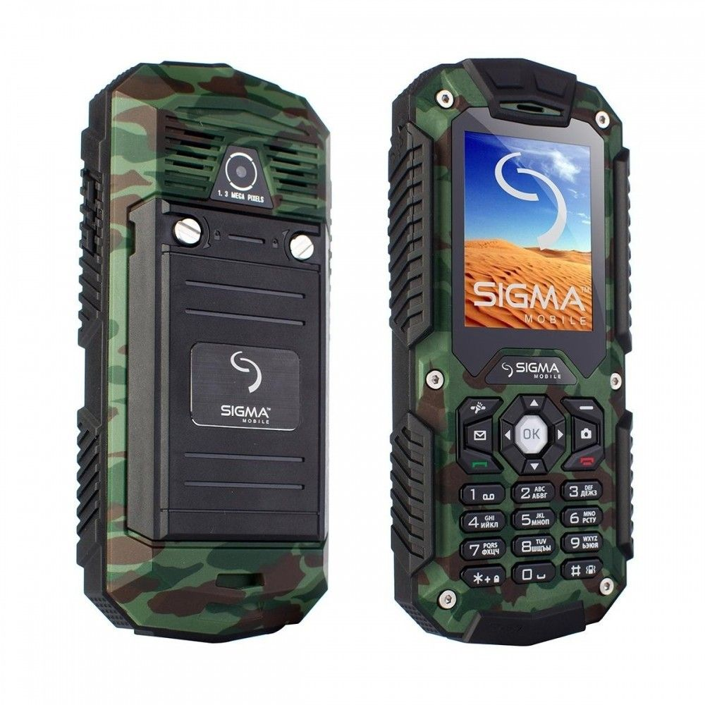 Мобильный телефон Sigma mobile X-treme IT67 Dual Sim Khaki - 2