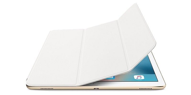 "Чехол-книжка Apple Smart Cover для iPad Pro 12.9"" (MLJK2ZM/A) White - 2"