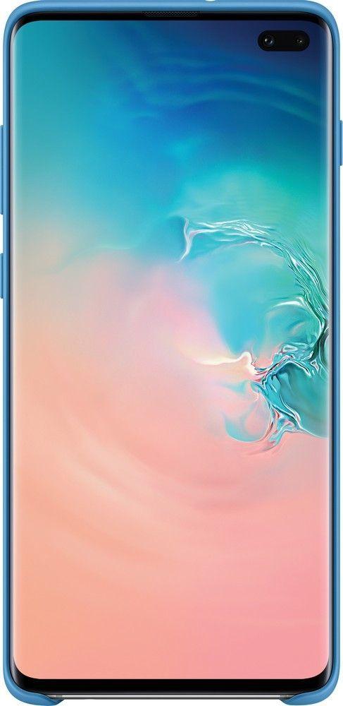 Панель Samsung Silicone Cover для Samsung Galaxy S10 Plus (EF-PG975TLEGRU) Blue от Територія твоєї техніки - 3
