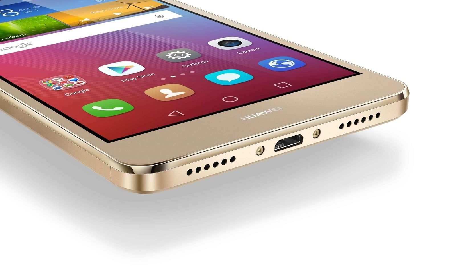 Мобильный телефон Huawei GR5 Dual Sim Gold - 7