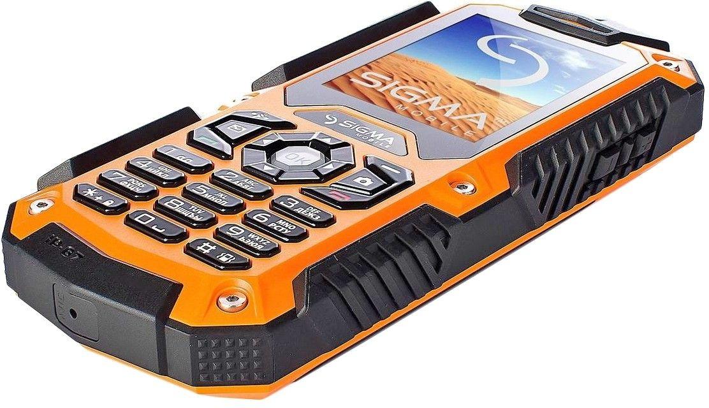 Мобильный телефон Sigma mobile X-treme IT67 Dual Sim Black-Orange - 4