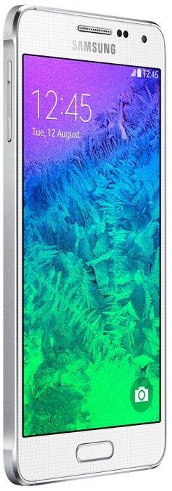 Мобильный телефон Samsung Galaxy Alpha G850F Dazzling White - 7