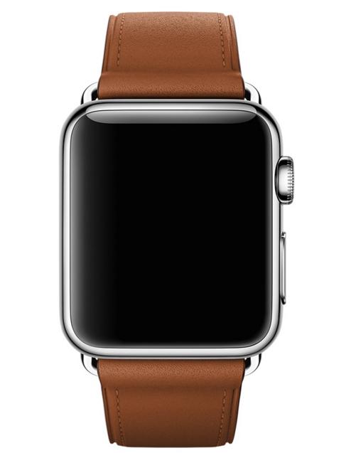 Ремешок Classic для Apple Watch 38мм (MLDY2) Saddle Brown - 2