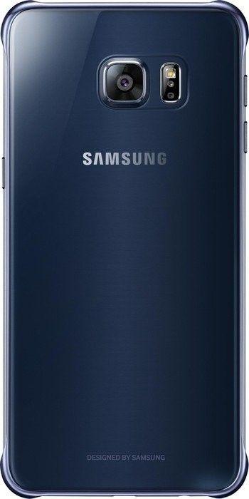 Чехол Samsung Clear Cover для Samsung Galaxy S6 edge+ BlueBlack (EF-QG928CBEGRU) - 3