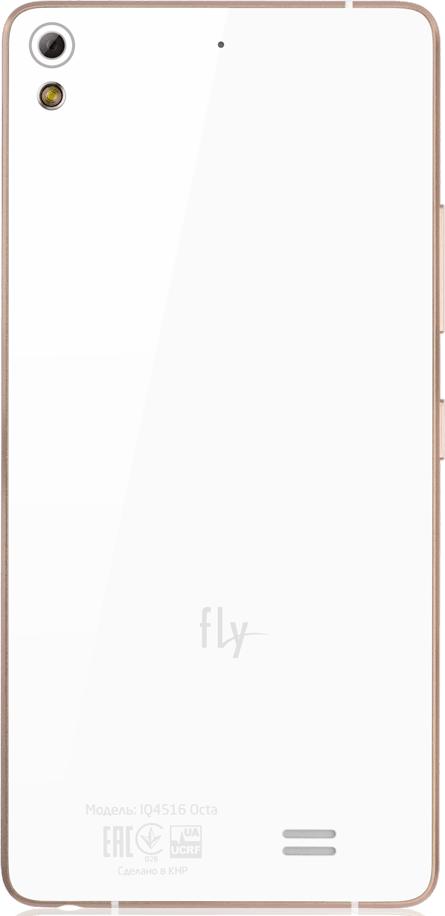 Мобильный телефон Fly IQ4516 Octa White - 1