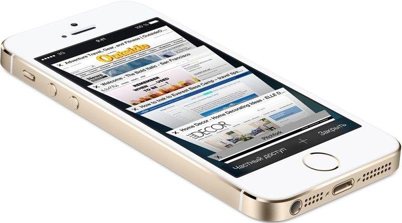 Мобильный телефон Apple iPhone 5S 16GB Gold - 1