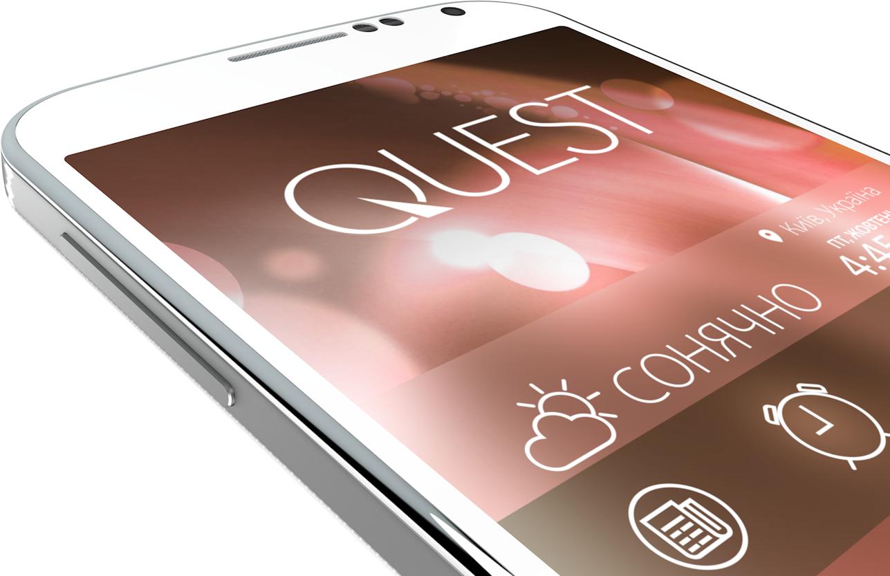 Мобильный телефон Qumo Quest 503 White - 6