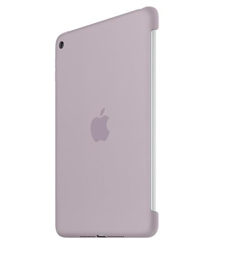 Силиконовый чехол Apple Silicone Case для  iPad mini 4 (MLD62ZM/A) Lavender - 1