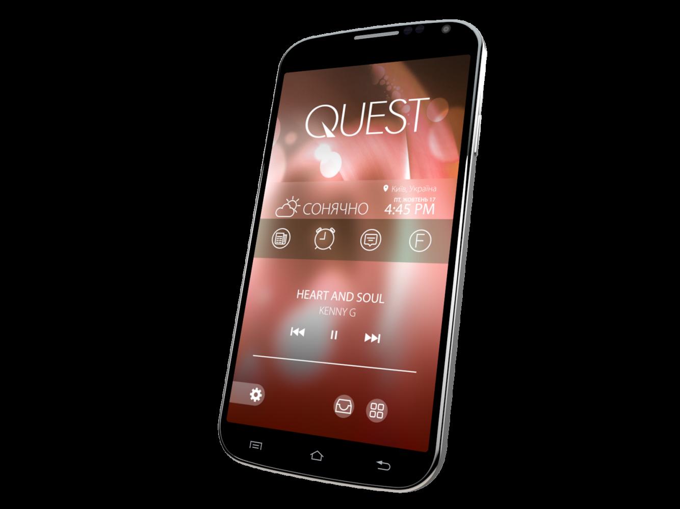 Мобильный телефон Qumo Quest 503 Black - 3