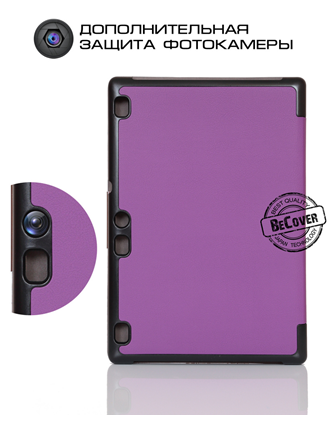 Чехол-книжка BeCover Smart Case для Lenovo Tab 2 A10-70 Purple - 3