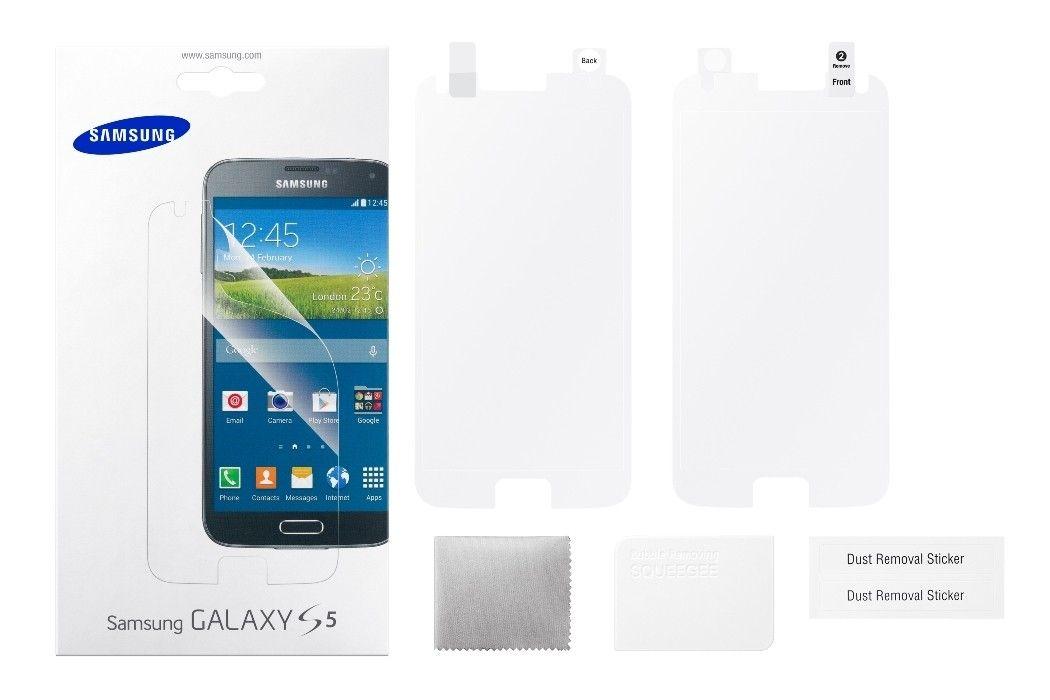 Защитная пленка Samsung для Samsung Galaxy S5 глянцевая (ET-FG900CTEGRU) - 2