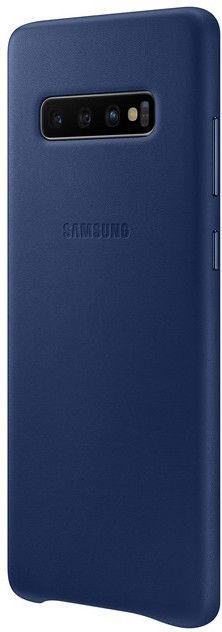 Панель Samsung Leather Cover для Samsung Galaxy S10 Plus (EF-VG975LNEGRU) Navy от Територія твоєї техніки - 3