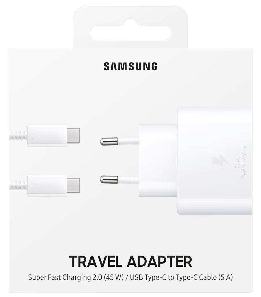 Сетевое зарядное устройство Samsung Fast Charging Type-C 45W (EP-TA845XWEGRU) White от Територія твоєї техніки - 5