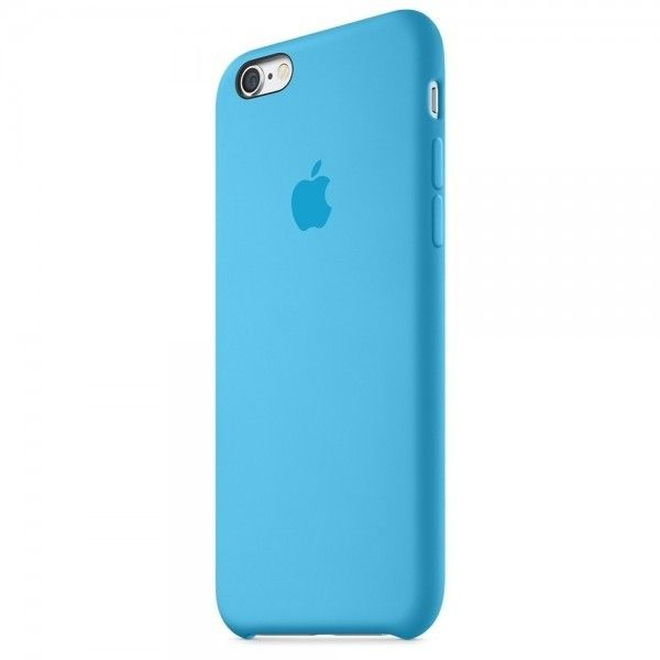 Панель Apple iPhone 6s Silicone Case Blue (MKY52ZM/A) - 1