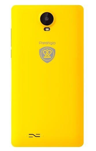 Мобильный телефон Prestigio Wize E3 3509 Dual Yellow - 1