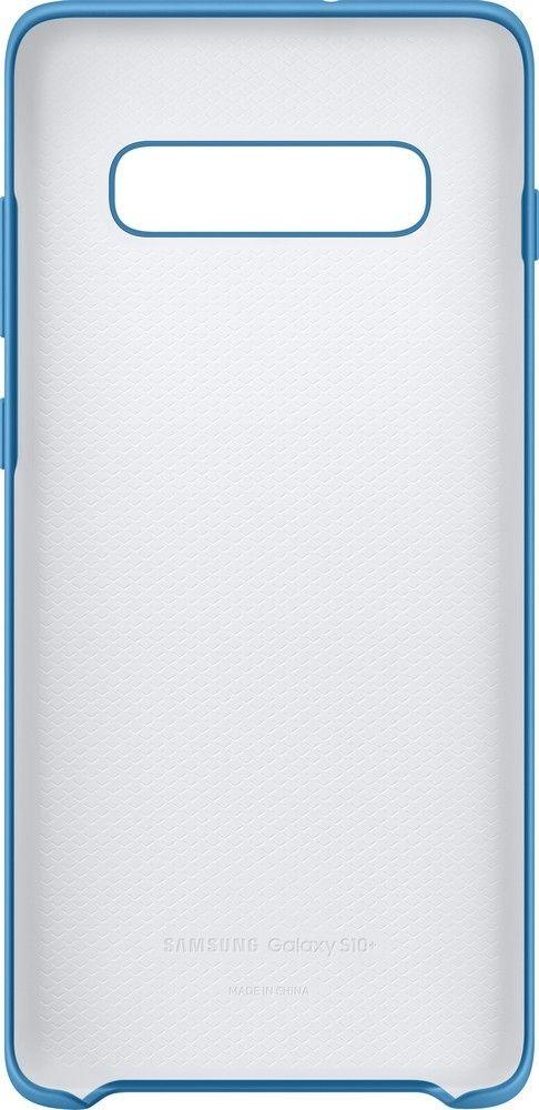 Панель Samsung Silicone Cover для Samsung Galaxy S10 Plus (EF-PG975TLEGRU) Blue от Територія твоєї техніки - 4