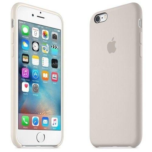Панель Apple iPhone 6s Silicone Case Antique White (MLCX2ZM/A) - 3
