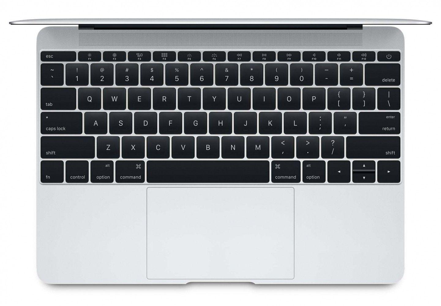 "Ноутбук Apple MacBook 12"" Silver (MLHA2UA/A) - 1"