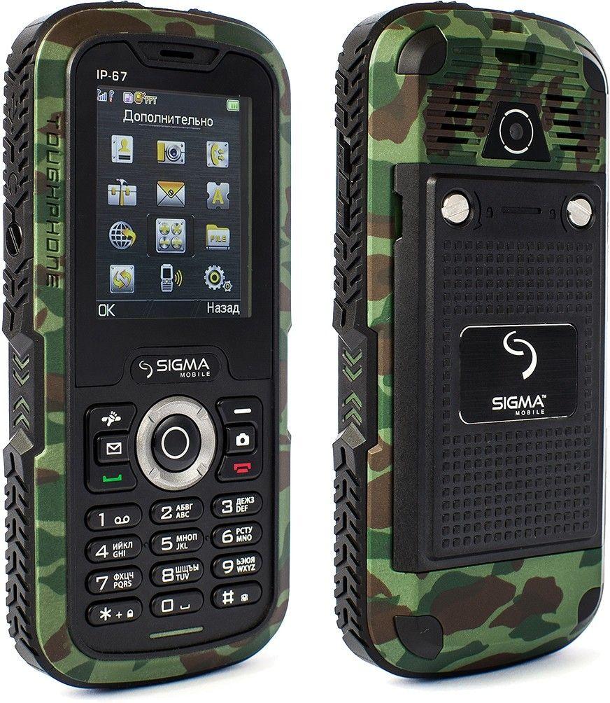 Мобильный телефон Sigma mobile X-treme IP67 Khaki - 2