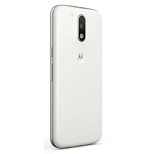 Мобильный телефон Motorola Moto G4 Plus (XT1642) White - 1