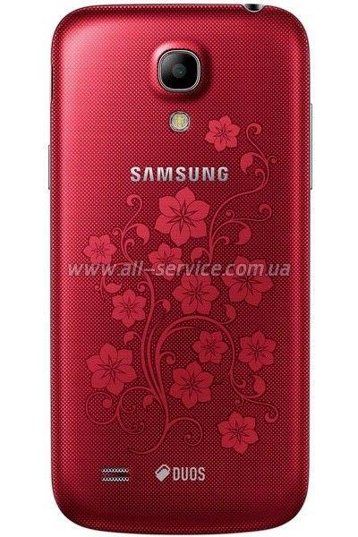 Мобильный телефон Samsung I9192 Galaxy S4 Mini Duos Red La Fleur  - 2