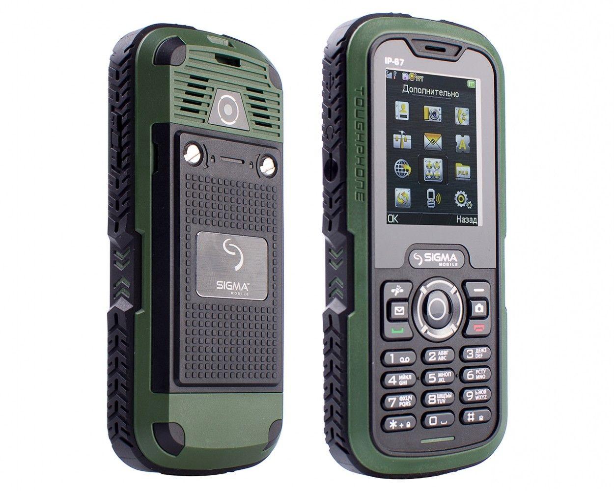 Мобильный телефон Sigma mobile X-treme IP67 Green - 2