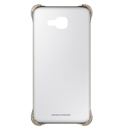 Чехол Samsung A710 EF-QA710CFEGRU Gold - 1