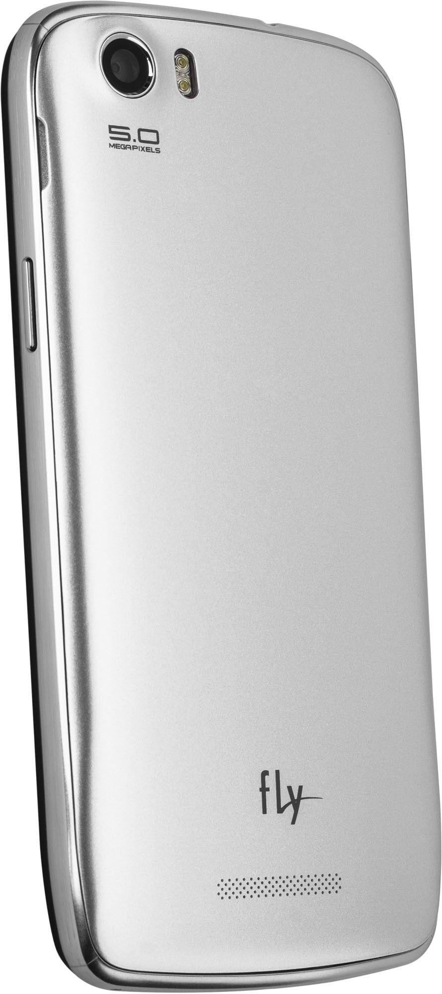 Мобильный телефон Fly IQ4405 Quad Evo Chic Silver - 1